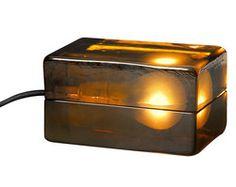 Design House Stockholm - Block Lamp Ambre - L 16 cm  219-