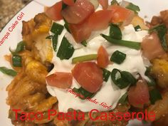 Taco Pasta Casserole Taco Seasoning Packet, Seasoning Mixes, Pasta Casserole, Casserole Dishes, My Recipes, Mexican Food Recipes, Taco Sauce, Refried Beans, Girl Cakes