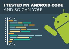 There are no excuses for not testing your Android code. The JUnit4 and Espresso libraries make writing tests look easy. Here's how I did it in Android Studio 1.5.1.