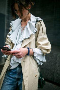 ストリートを駆け抜けた赤 2018年春夏ロンドン・ファッション・ウイーク│WWD JAPAN