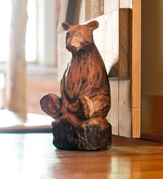 (Picture shows a bear, but there is an owl also) Woodland Critter Doorstops OWL $29.95