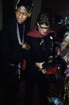 1978 - Andre Leon Talley & YSL at the Palace