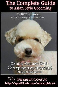 asian dog grooming book