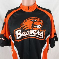 NCAA Men's Adrenaline Promotions Oregon State Beavers Cycling Jersey (Old Style)