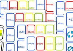 UNO mots visuellement proches - Réalisé avec le logiciel ArtisKit - En partage sur ce groupe Face Book – Partage de matériel Artiskit : Orthophonie http://www.facebook.com/groups/128326657315777/ - Site ArtisKit : http://www.artiskit.com