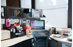 In the office of Allison Cooke, Director of Marketing at CS Magazine
