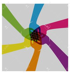Teamwork Hands People Union Logo Vector Royalty Free Cliparts, Vectors, And Stock Illustration. Image 44564652.