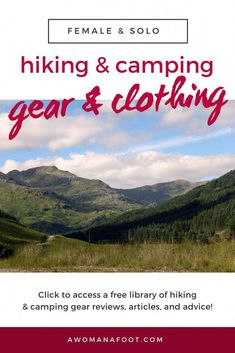 What gear do I need to go hiking? What is the best camping gear? Hiking clothes for women Camping Bedarf, Best Camping Gear, Backpacking Tips, Camping Hacks, Ultralight Backpacking, Winter Camping, Camping Outdoors, Outdoor Camping, Outdoor Gear