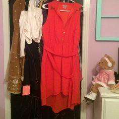 Dress Orange dress Dresses Midi