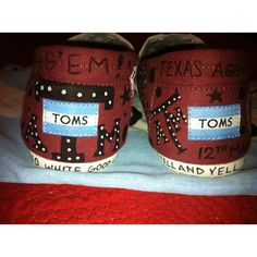 Texas Aggie Toms by Karen Laughlin