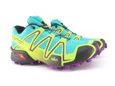 4ddac5672767 SALOMON SPEEDCROSS 3 W WOMEN Running   Hiking Shoes 100% Authentic 376373 A