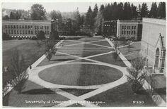 In excellent condition. Carnegie Library, Eugene Oregon, University Of Oregon, Oregon Ducks, Photo Postcards, Post Office, Lodges, Scene, Exterior