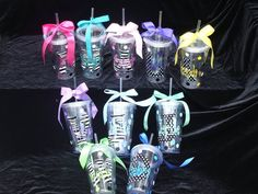 Personalized Tumblers for Cruising bridal-shower
