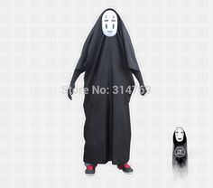 >> Click to Buy << Cheaper Costume Spirited Away Anime Cosplay Clothes Set My name is Chaos unisex Kimono + none face Mask + Black Gloves #Affiliate