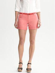 Cute Coral Shorts.