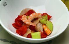 [Comparte y guardarás la receta en tu muro] Una ensalada con un toque diferente.