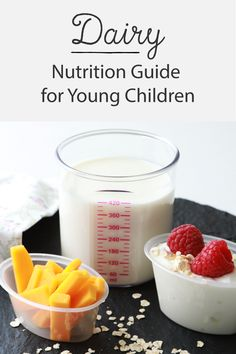 Is your child getting the right amount of dairy in their diet? Although dairy is a healthy source of proteins and fats, it should be offered in moderation like everything else. Click through to read our nutrition guide for dairy to ensure your child is getting the right balance.