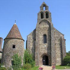 Commanderie Templière d'Arville - Loir et Cher : la chapelle du début du XIIème siècle