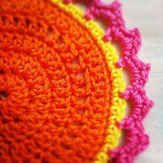 crochet colourfull