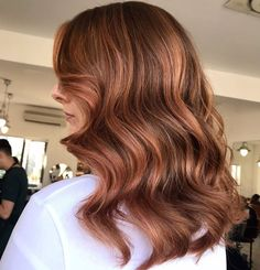 "Lisa Roe on Instagram: ""Cant wait to do this gals hair again!! My Fav red head 😍 @cliodhnawsxx  I loved creating this rose gold moment 🧡💖"""