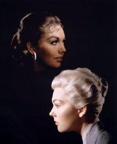Kim Novak as 'Judy Barton/posing as Madeleine Elster' in Alfred Hitchcock's Vertigo (1958)