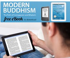 FREE EBOOK! Modern Buddhism Free eBook! Learn about ancient wisdom for modern times to overcome stress, anxiety and all our daily problems! #meditation #Buddhism