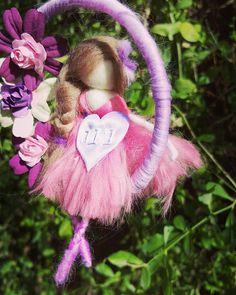 ♡♡ According to the anthroposophical approach, imagination is a very important tool in the development and success of life, so these special fairies leave much room for imagination. The fairy is made from natural wool and creates a pleasant atmosphere. Each of my fairys is energized