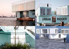 Arquiteto usa contêineres para oferecer moradia flutuante e barata a estudantes stylo urbano-3