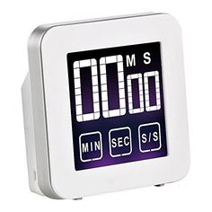 Cook N Home Touch Screen Digital Kitchen Timer