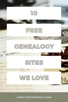 New family historians can get overwhelmed looking for research options, and end up only using sites like Ancestry to research their ancestors. And while Ancestry.com and other paid sites are certainly very valuable resources for genealogists, they are only a small part of the picture. Free Genealogy Sites, Free Website, Family History, Infographic, Bindi, Ancestry, Infographics, Genealogy, Visual Schedules