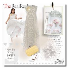 """""""Summer Party Dressing With The RealReal: Contest Entry"""" by dobrescu-dana ❤ liked on Polyvore"""