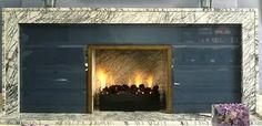 David Collins fireplace