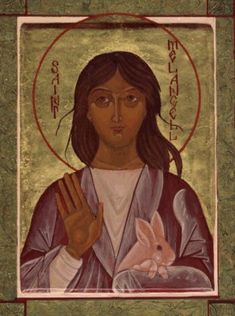 Virgin Saint Melangell, Abbess in Wales, patron of hares. May 27.