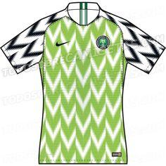 a9e6f479f Nigeria 2018 World Cup Kits LEAKED World Cup Kits, Word Cup, Football Kits,
