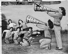 vintag pic, stuff, vintag photographi, vintag life, vintag cheerlead, cheerweekend 1946