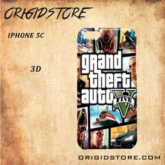 grand theft auto For Iphone 5C Case - Gift Present Multiple Choice