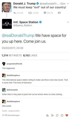 Space Station taking one for the team