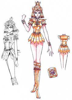 Naoko Takeuchi, BSSM Materials Collection, Sailor Galaxia, Character Sheet