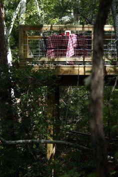 great deck for yard ravine