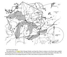 Where Are The Ley Lines On Earth | Ley lines and pentagram of the Great Lakes: