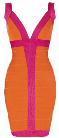 Sunny Neon Bandage Dress.... Looking forward to the day I can fit in one lmao.