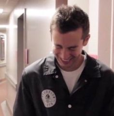 Tyler cracking up at Josh