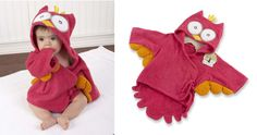 My Little Night Owl Hooded Robe