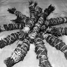how to prepare pine for smudging