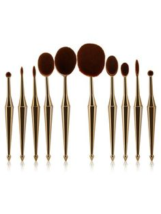 SHARE & Get it FREE   Mermaid Shape Makeup Brushes Set - GoldenFor Fashion Lovers only:80,000+ Items • New Arrivals Daily Join Zaful: Get YOUR $50 NOW!