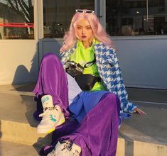New fashion trends and outfits for teens and young women in spring and summer 2019 Japanese Street Fashion, Asian Fashion, Look Fashion, Fashion Outfits, Fashion Trends, Classy Fashion, Retro Fashion, Fashion Tips, Retro Outfits