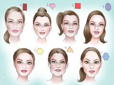 How to Determine Your Face Shape: 10 Steps (with Pictures)