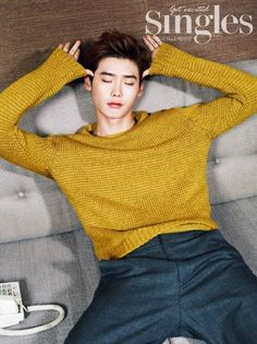 lee jong suk interview with singles