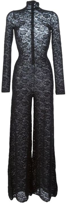 Pin for Later: Thanks to Emily Ratajkowski, We're Now Shopping For Lace Pants  Stella McCartney Lace Jumpsuit ($1,725)
