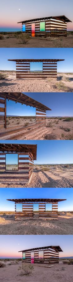 2013 Philip K. Smith III - Lucid Stead / California High Desert USA / mirror wood